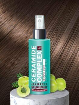 Экспресс-кондиционер несмываемый «Ceramide Complex» - Для окрашенных волос