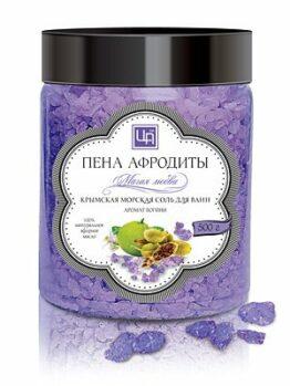 Крымская морская соль для ванн «Магия любви»