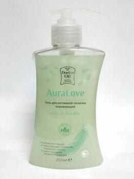 Гель для интимной гигиены освежающий «AuraLove» - Масло мяты